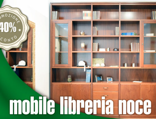 Mobile libreria noce